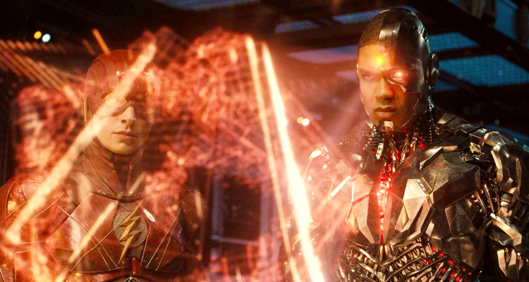 Ray Fisher as Cyborg-Justice League