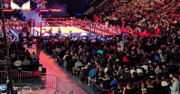 WWE return of live events