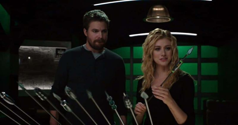Mia Smoak and Oliver Queen