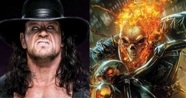 The Undertaker and Ghost Rider