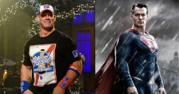 John Cena and Superman