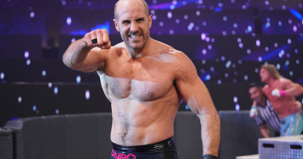 Cesaro signs new contract with WWE