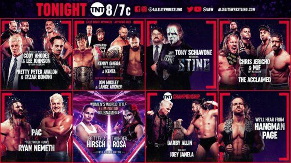 Andrade Cody Rhodes Injured