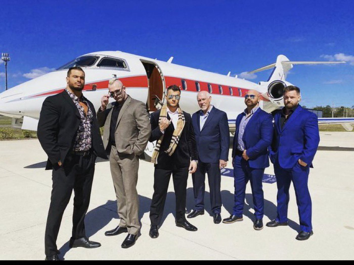 on new aew faction