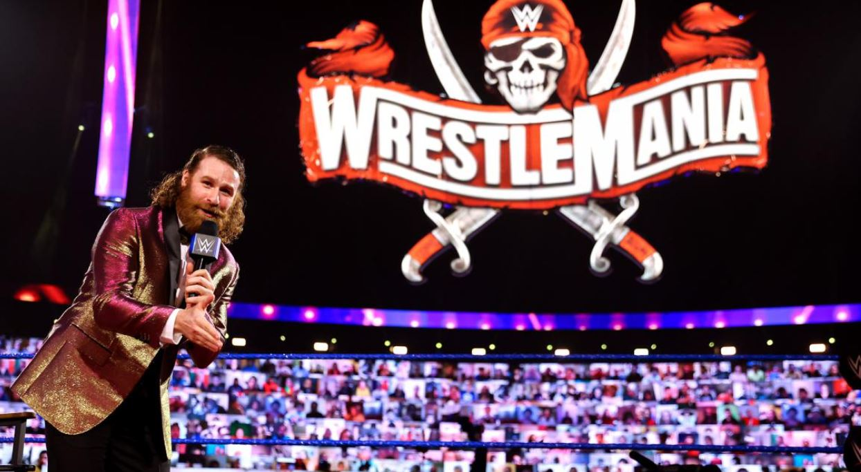 waiting for wrestlemania 37