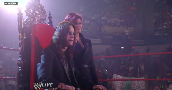 Ozzy Osbourne to be inducted in WWE Hall of Fame