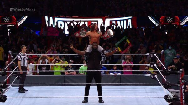 WWE WrestleMania 37 report