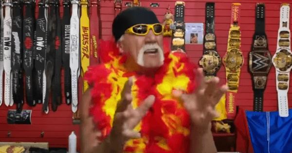 WWE Hulk Hogan booed by fans at WrestleMania 37