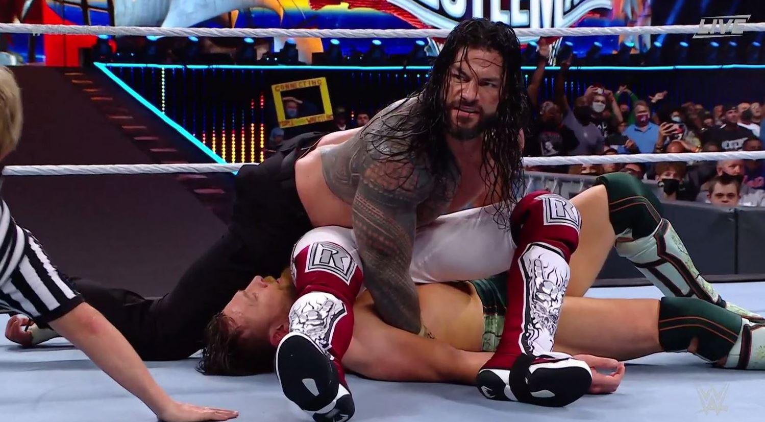 wrestlemania main event controversy