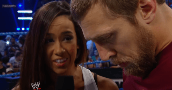 AJ Lee and Daniel Bryan