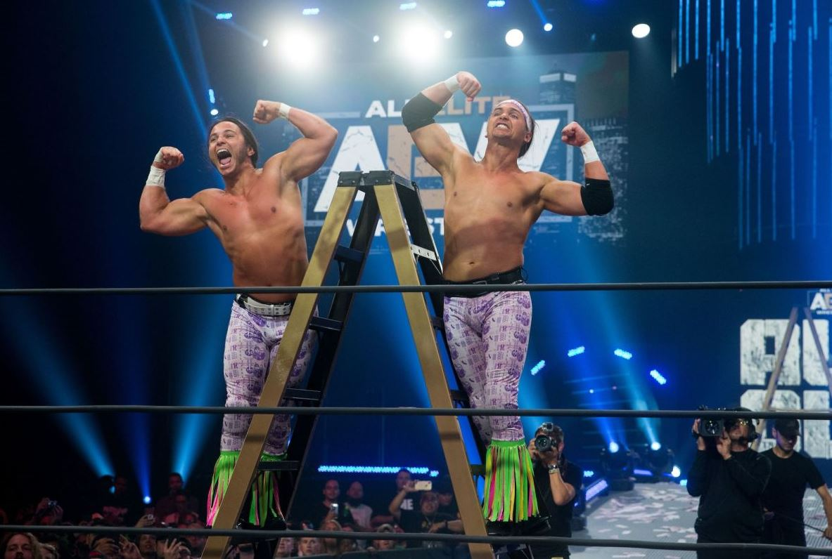 wwe offered young bucks