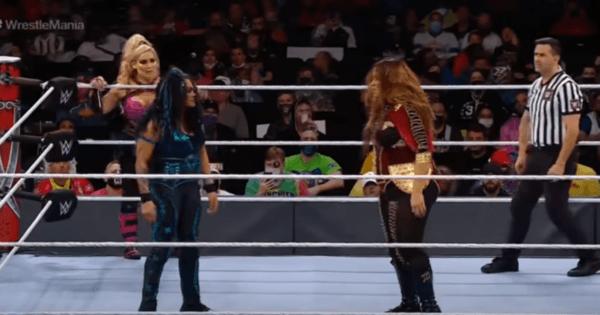 Tamina enjoys great fan support at WWE WrestleMania