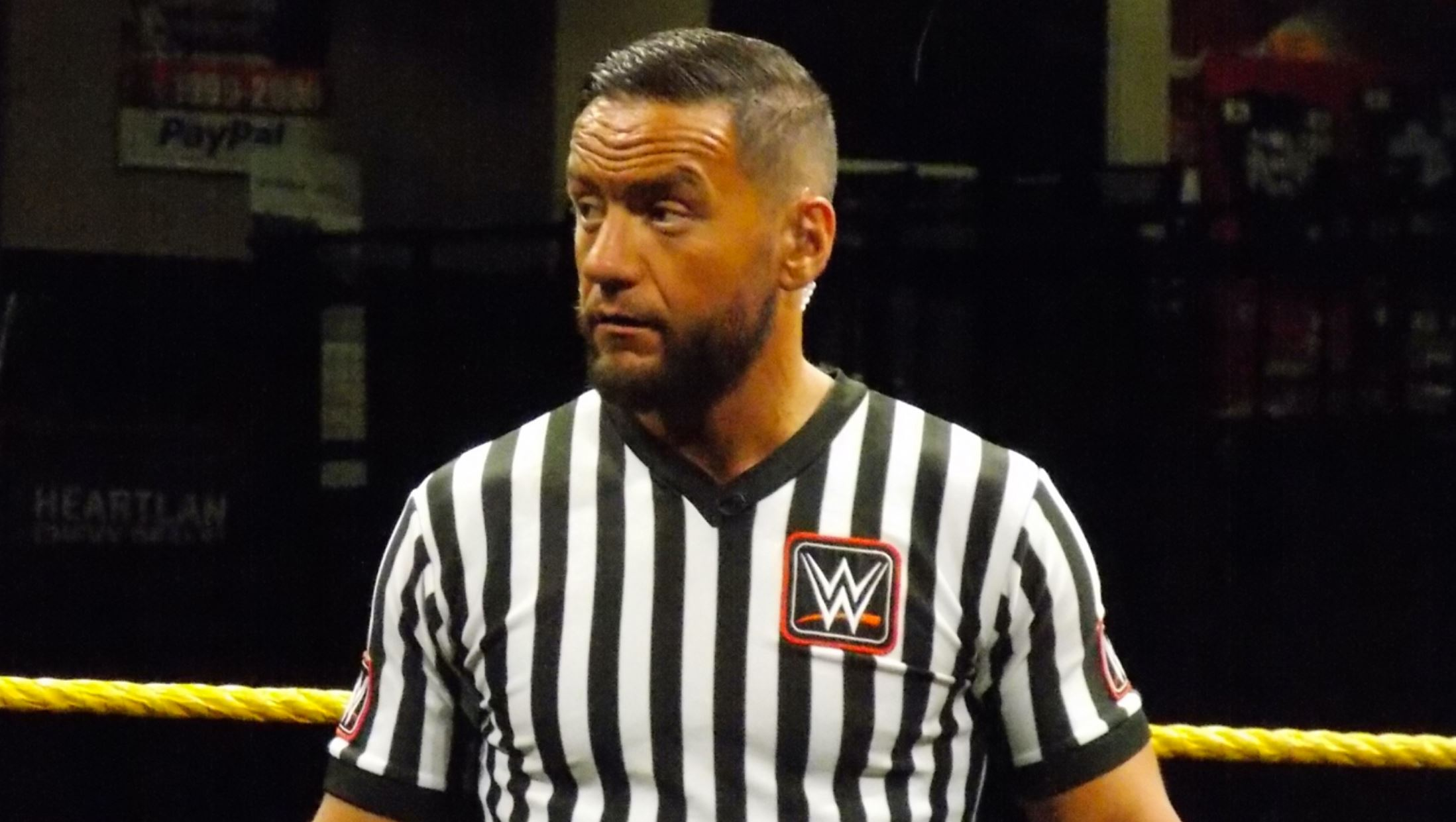 former nxt referee issues