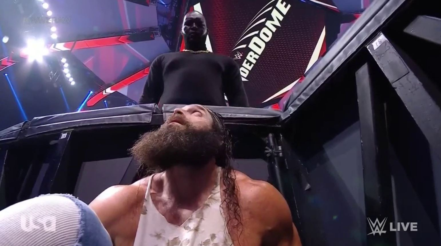 hell in a cell is heating up