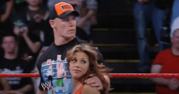 John Cena and Mickie James