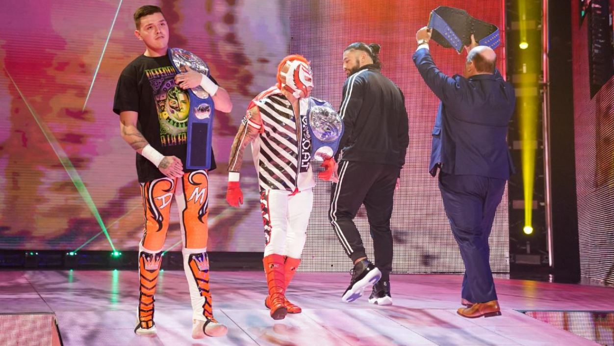 smackdown in a nutshell the usos