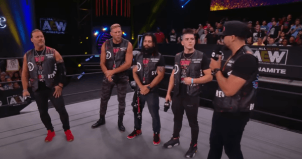 Many Factions AEW Dynamite