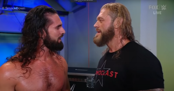 Seth Rollins and Edge