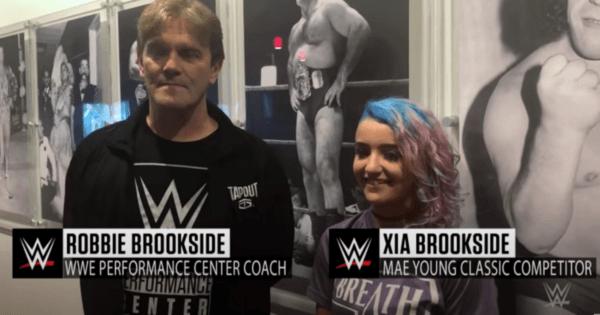 Xia and Robbie Brookside
