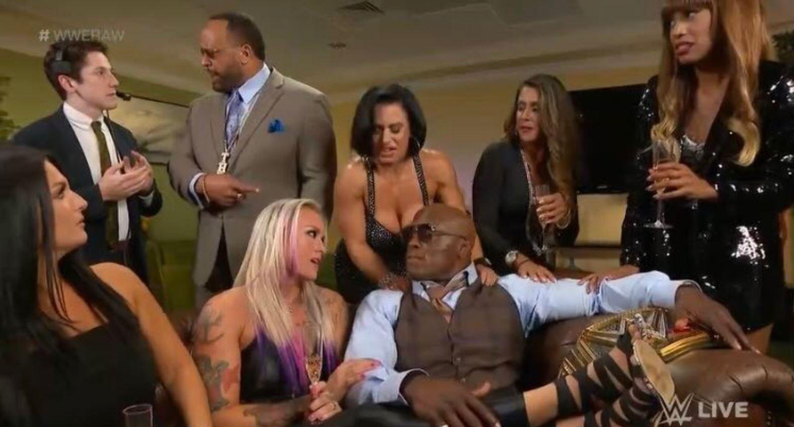 lashely lost his ladies raw