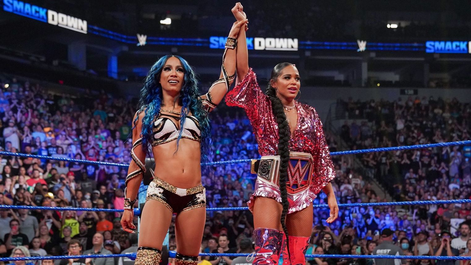 smackdown in a nutshell BOSS TIME SASHA BANKS