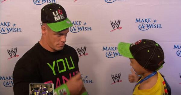 John Cena Make a Wish Foundation