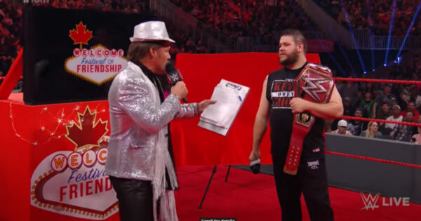 Chris Jericho RAW Debut Anniversary AEW/WWE