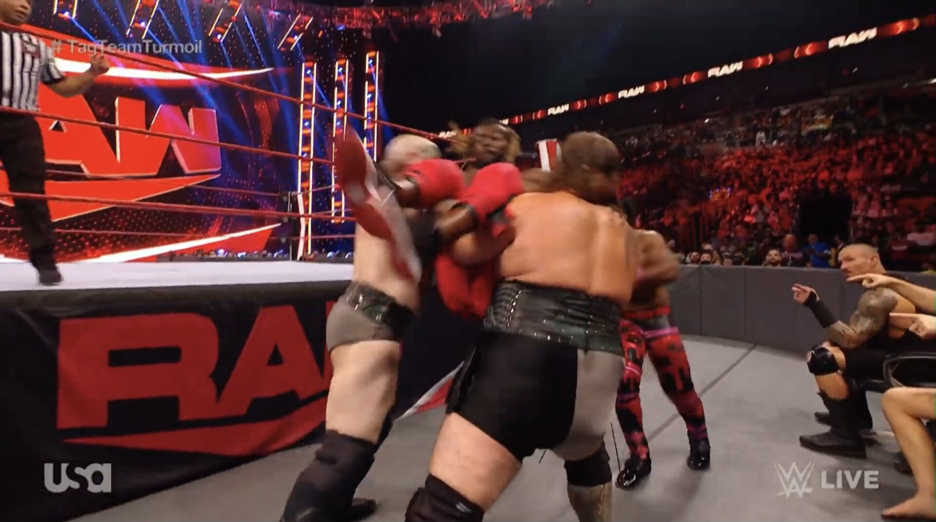 raw tag team turmoil
