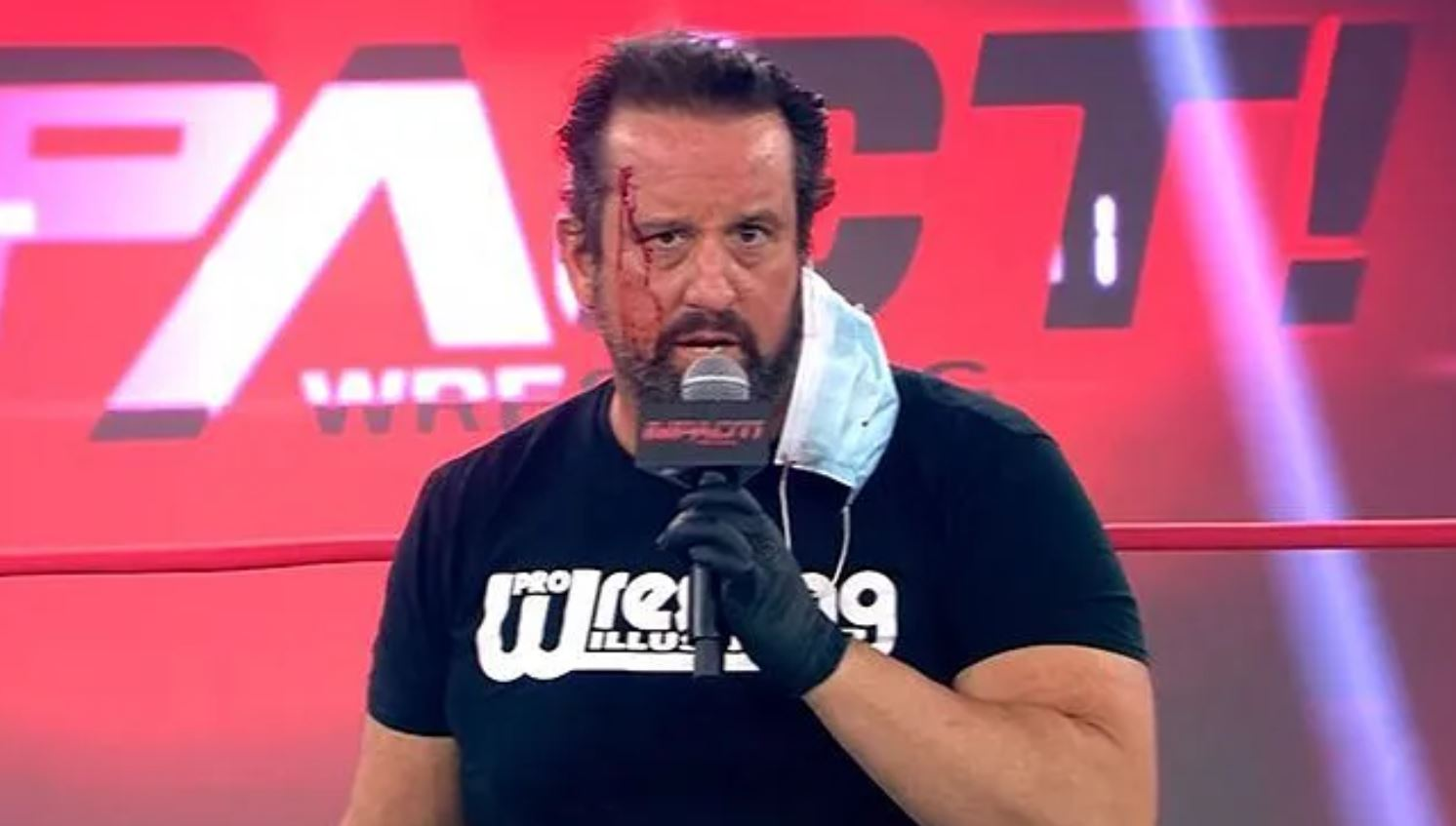 tommy dreamer suspended from impact