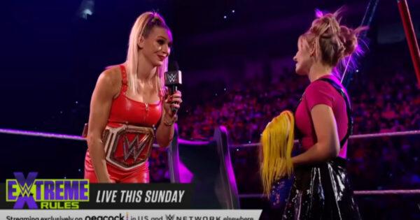 Charlotte and Alexa Bliss